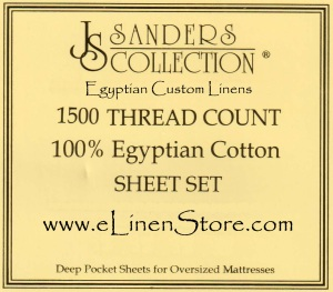 Egyptian Custom Linens www.elinenstore.com corporate label